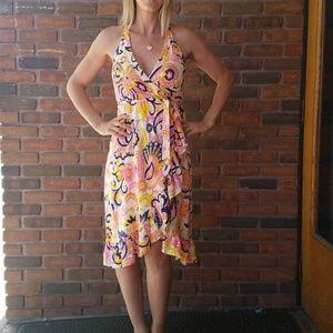 Minka wrap dress